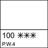 100 Zinc White semi-dry