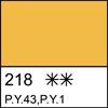 218 Yellow Ochre semi-dry