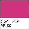 324 Quinacridone Rose semi-dry