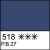 518 Prussian Blue semi-dry
