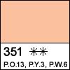 351 Orange pale