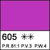 Violet light 605