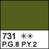 731 sap green